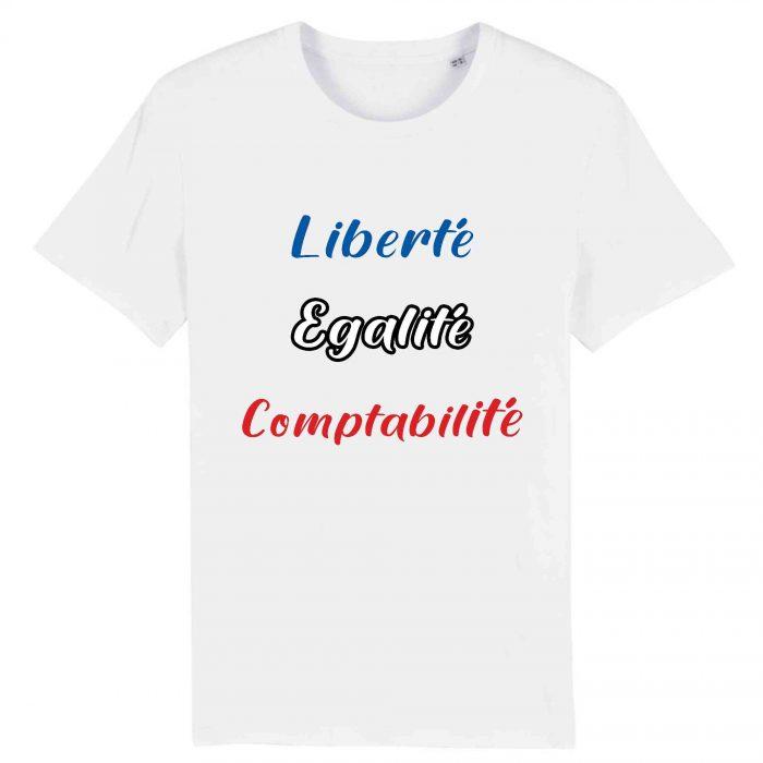 T-shirt - Liberté Egalité Comptabilité