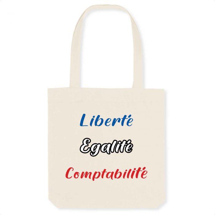 Totebag - Liberté Egalité Comptabilité