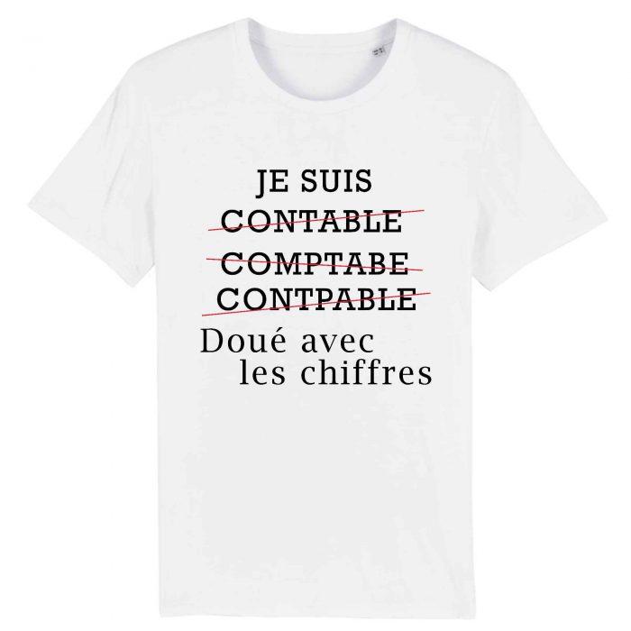 T-shirt - Je suis doué avec les chiffres