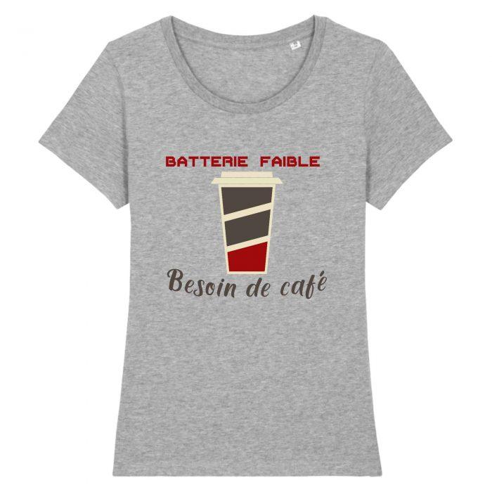 Sweat - Batterie faible Besoin de café