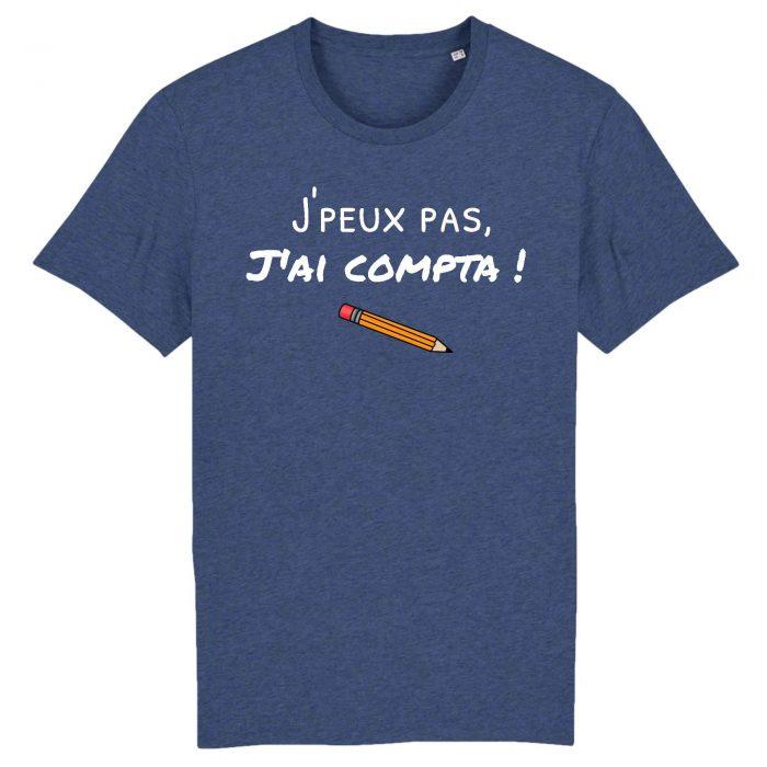 T-shirt - J'peux pas j'ai compta !
