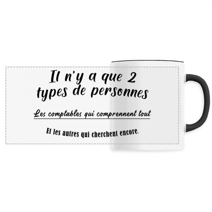 Mug - Il n'y a que 2 types de personnes