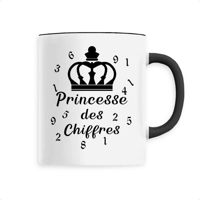 Mug - Princesse des chiffres