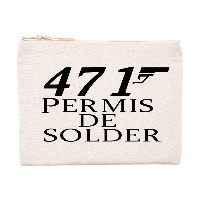Pochette - 471 Permis de solder