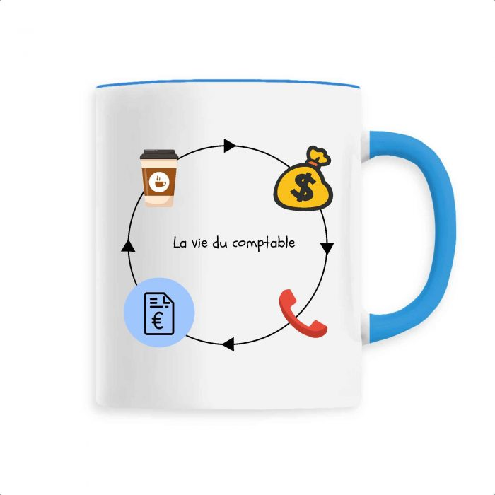 Mug - La vie du comptable