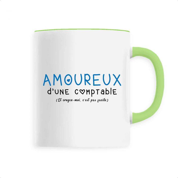 Mug - Amoureux d'une comptable