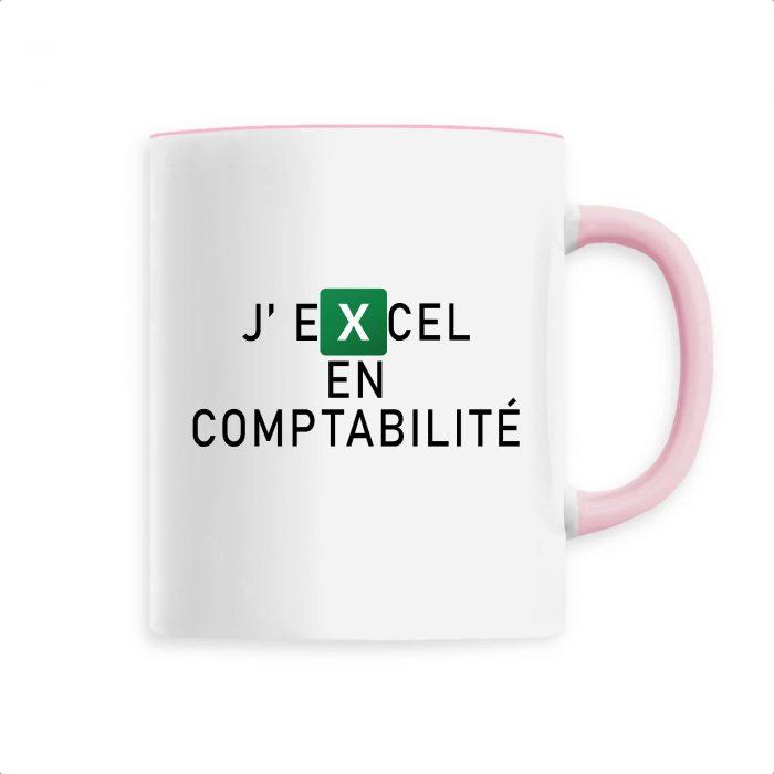 Mug - J'EXCEL en compta